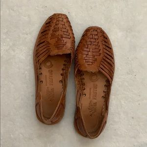 Leather Mexican huarache